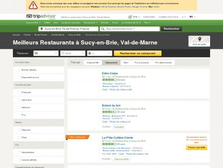 Les 10 meilleurs restaurants à Sucy-en-Brie -...