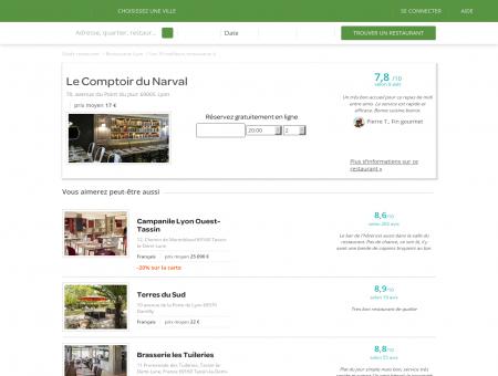 Restaurant Le Narval | le-narval.lafourchette.com