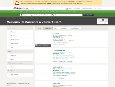 Les 10 meilleurs restaurants à Vauvert -...