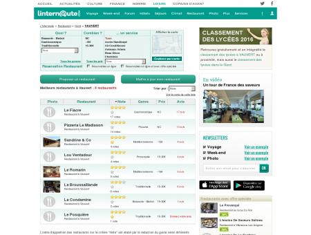 Restaurant Vauvert : Le guide des meilleurs...