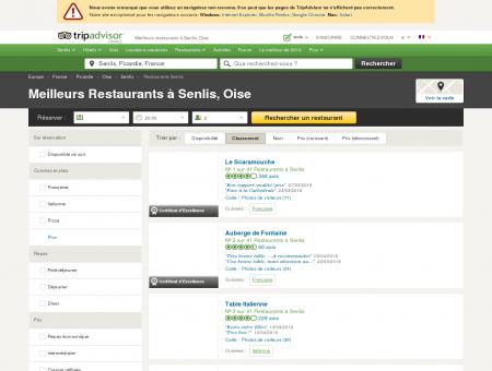 Les 10 meilleurs restaurants à Senlis - TripAdvisor