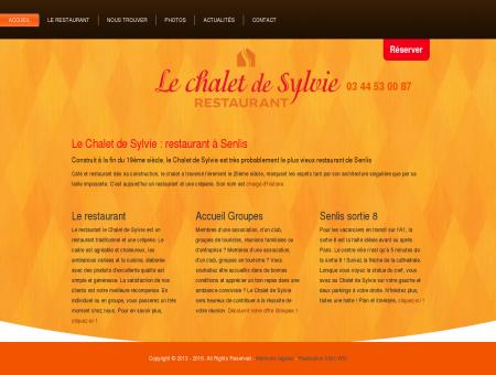 Restaurant Senlis Le Chalet de Sylvie Brasserie...