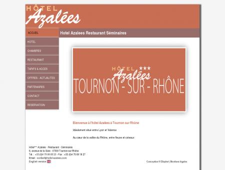 Hotel Azalees Restaurant Séminaires Tournon...