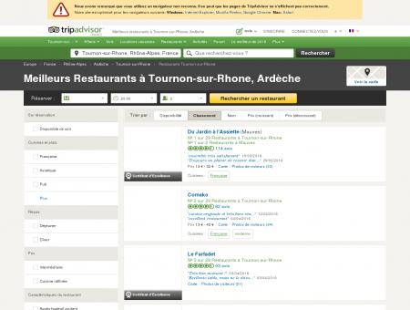 Les 10 meilleurs restaurants à Tournon-sur...