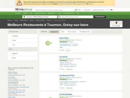 Les 5 meilleurs restaurants à Tournon -...