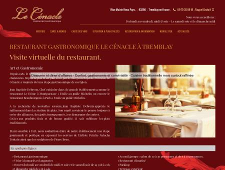 Restaurant gastronomique, dîner d'affaires -...