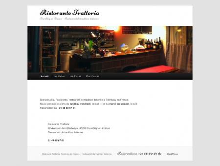 Ristorante Trattoria | Tremblay en France ...