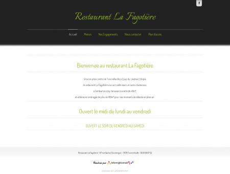 Bienvenue au restaurant La Fagotière