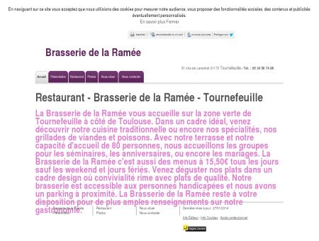 Restaurant - Brasserie de la Ramée à...
