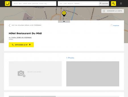 Hôtel Restaurant Du Midi Vic Fezensac...