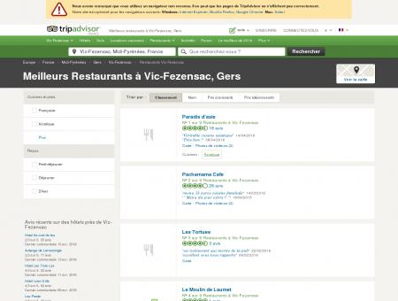 Les 5 meilleurs restaurants à Vic-Fezensac -...
