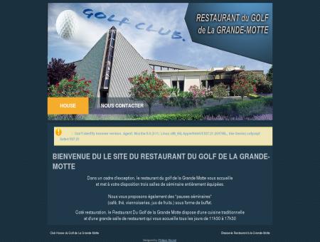 Bienvenue du le site du Restaurant du Golf de...