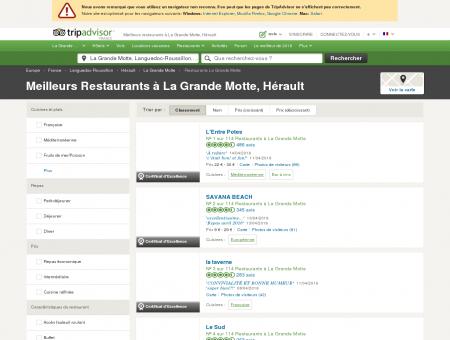 Les 10 meilleurs restaurants à La Grande...