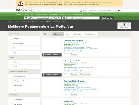 Les 5 meilleurs restaurants à La Motte -...