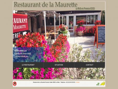Restaurant de La Maurette à La Motte 83 Var