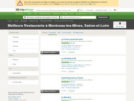 Les 10 meilleurs restaurants à Montceau-les...