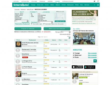 Restaurant Montceau Les Mines : Le guide des...