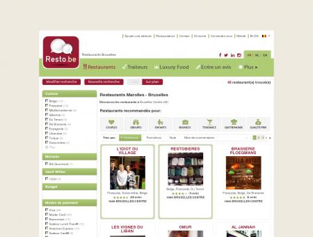 Restaurants Bruxelles Marolles - Guide...