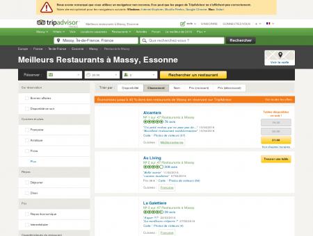 Les 10 meilleurs restaurants à Massy -...