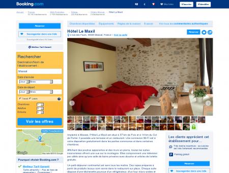 Booking.com: Hôtel Le Maxil - Massat, France