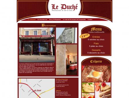 Restaurant Le Duché - Neuvy Saint Sépulchre...