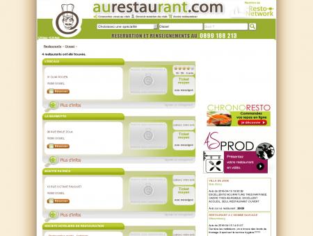 Les restaurants de OISSEL - AuRestaurant -...
