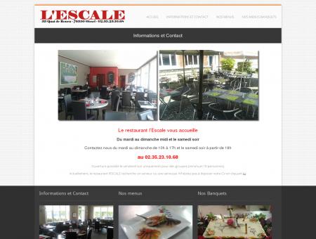 Restaurant l'Escale à Oissel (76350) - Contact |...