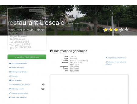 restaurant L'escale, 76350 oissel | Quartier...