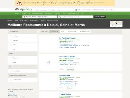Les 5 meilleurs restaurants à Noisiel -...