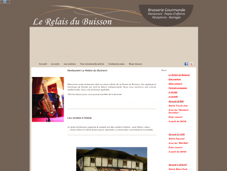 Restaurant Le Relais du Buisson - Le Relais du...