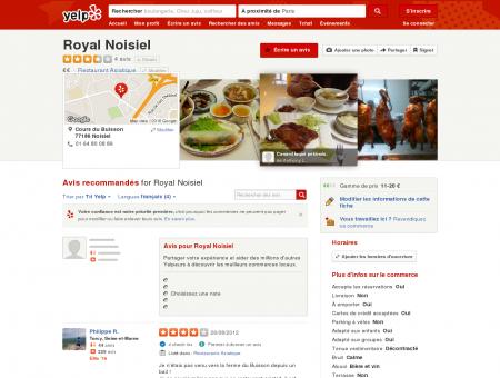 Royal Noisiel - Restaurant Asiatique - Noisiel,...