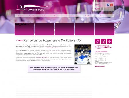 Restaurant La Payennière, traiteur -...