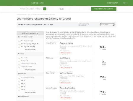 Les 10 meilleurs restaurants à Noisy-le-Grand ...