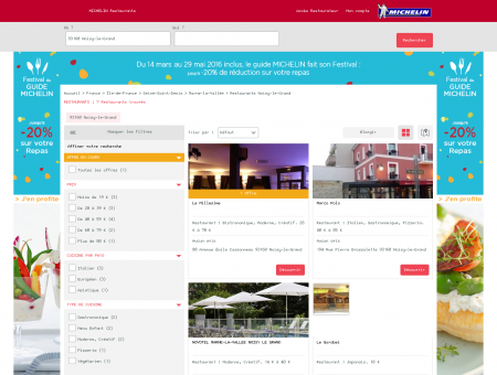 Restaurants 93160 Noisy-le-Grand -...