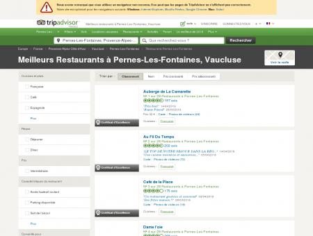 Les 10 meilleurs restaurants à Pernes-Les...