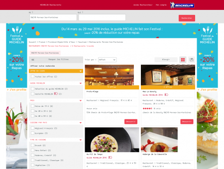 Restaurants 84210 Pernes-les-Fontaines -...