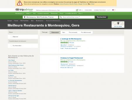 Les meilleurs restaurants à Montesquiou -...
