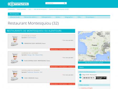 Restaurant Montesquiou (32) - Restaurants à...