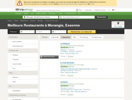 Les 5 meilleurs restaurants à Morangis -...