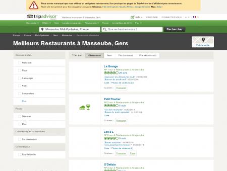 Les meilleurs restaurants à Masseube -...