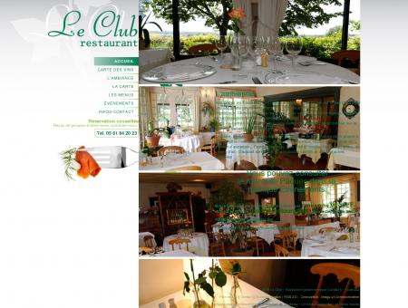 Le Club - Restaurant gastronomique Garidech ...