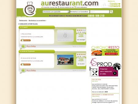 Les restaurants de MONTASTRUC LA...