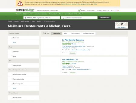 Les meilleurs restaurants à Mielan - TripAdvisor