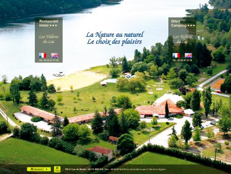 Loisirs lac miélan Gers, complexe touristique -...