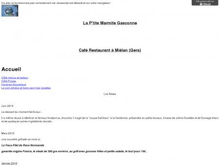 la ptite marmite gasconne - Accueil