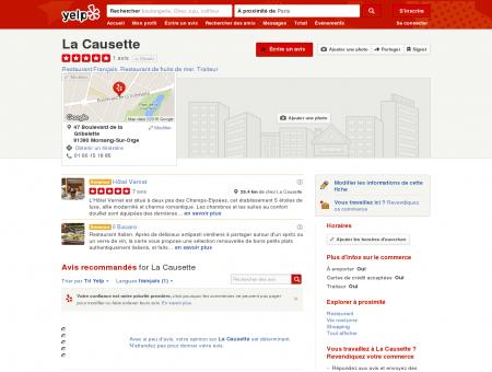 La Causette - Restaurant Français - Morsang...