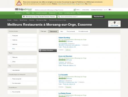 Les 10 meilleurs restaurants à Morsang-sur...