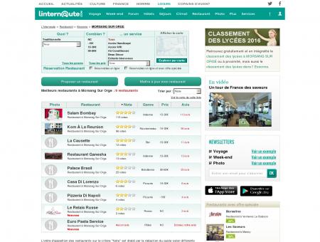 Restaurant Morsang Sur Orge : Le guide des...