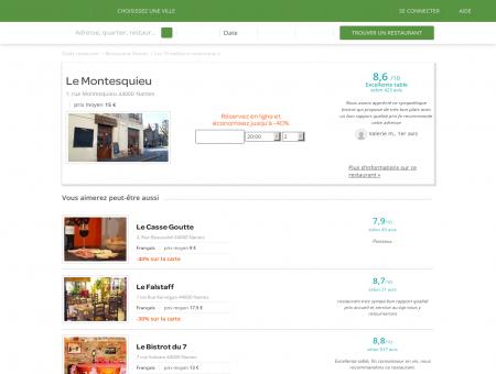Le Montesquieu | LeMontesquieu.LaFourchette.com