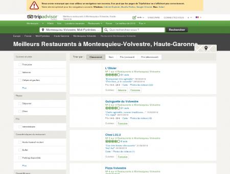 Les meilleurs restaurants à Montesquieu...